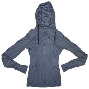 Lululemon Grey Dance Studio Reversible Jacket - 8